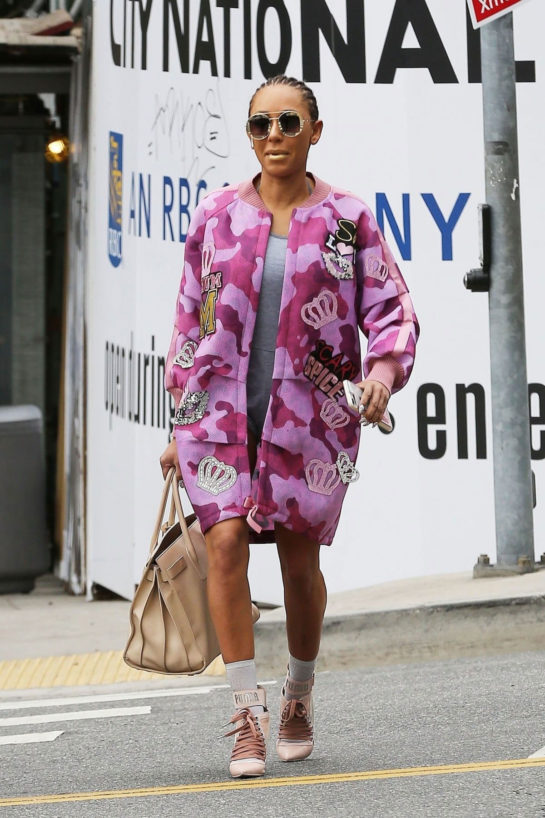 Melanie Brown - Out in West Hollywood