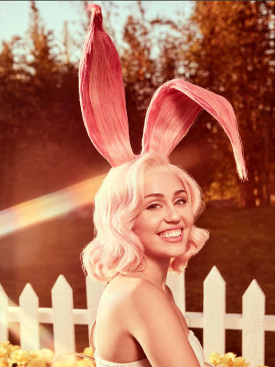 Miley Cyrus's Easter Calendar - Vogue