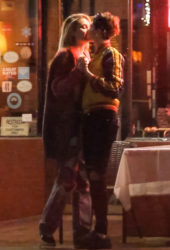 Paris Jackson and Cara Delevingne sharing a passionate kiss in West Hollywood