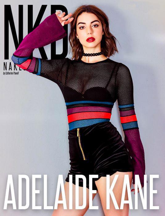 Adelaide Kane - NKD Magazine (January 2018)