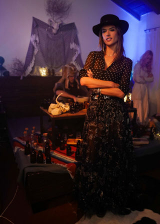 Alessandra Ambrosio - Dior Sauvage Party in Pioneertown
