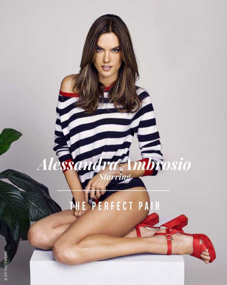 Alessandra Ambrosio for Xti Shoes, Spring/Summer 2018 Campaign