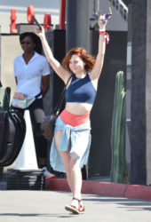 Alessandra Torresani at Coachella Valley Music and Arts Festival