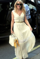 Kylie Minogue at BBC Studios in London