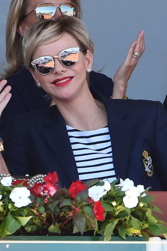 Charlene of Monaco at ATP Masters Series Monte Carlo 2018