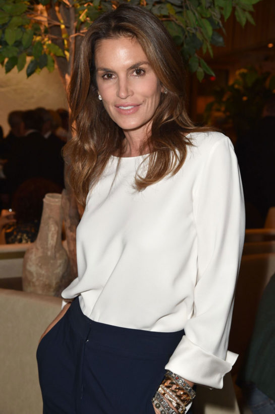 Cindy Crawford at Avra Beverly Hills Opening in Beverly Hills