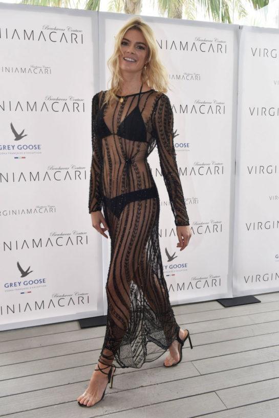 Cristina Tosio at Virginia Macari Fashion Show in Marbella
