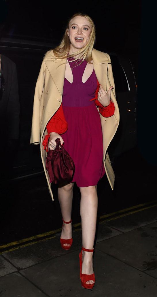 Dakota Fanning - Night Out in London
