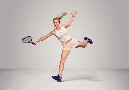 Elina Svitolina at WTA's Iconic Photoshoot in California, March 2018