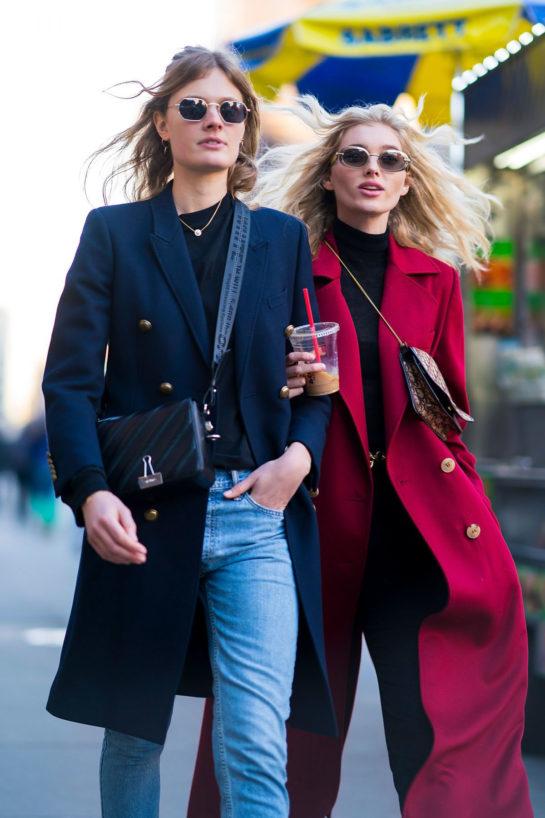 Elsa Hosk and Constance Jablonski – Out in New York