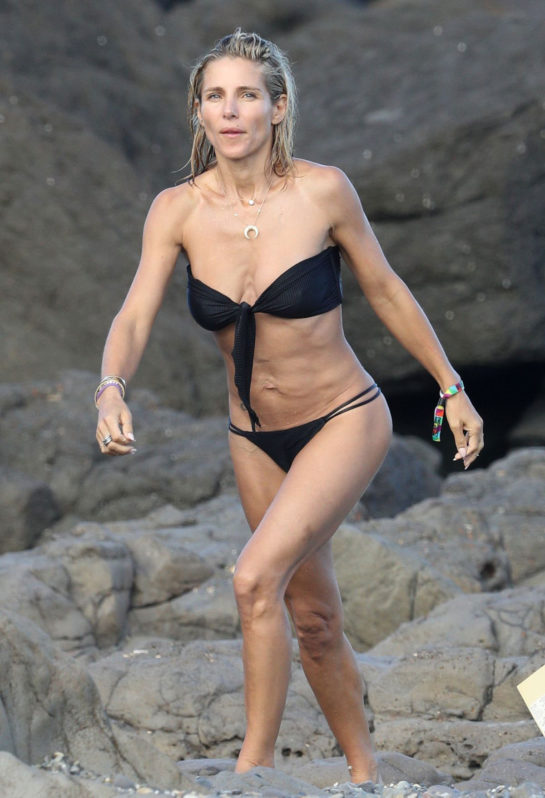 Elsa Pataky in Bikini at the Beach in Byron Bay
