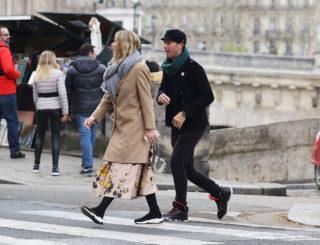 Gwyneth Paltrow - Easter Weekend in Paris