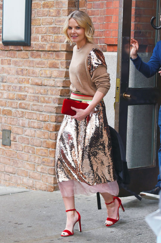 Jennifer Morrison Out in New York