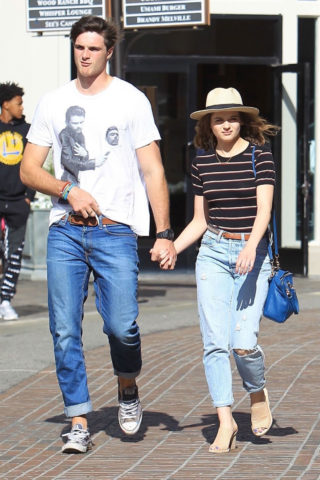 Joey King and Jacob Elordi Shopping at The Grove in Los Angele