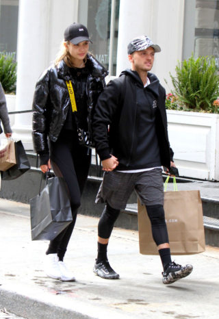 Josephine Skriver and Her Boyfriend Alexander DeLeon Shopping in NYC