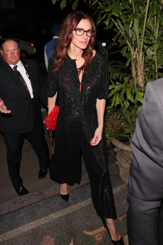 Julia Roberts - Gwynth Paltrow and Brad Falchuk's Engagement Party in LA