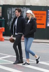 Karlie Kloss With Her Boyfriend – East Village, New York City