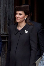 Kate Middleton, Prince William and Queen Elizabeth gathered for Easter service at Windsor