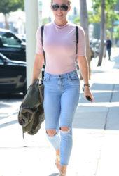 Kendra Wilkinson in West Hollywood