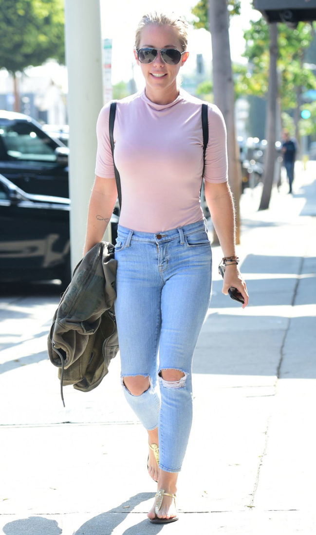 Kendra Wilkinson in West Hollywood