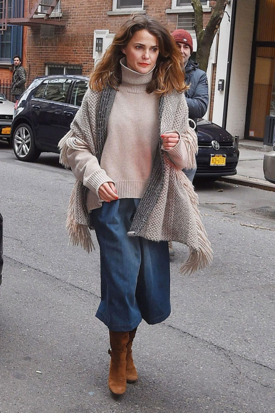 Keri Russell – Out in New York City