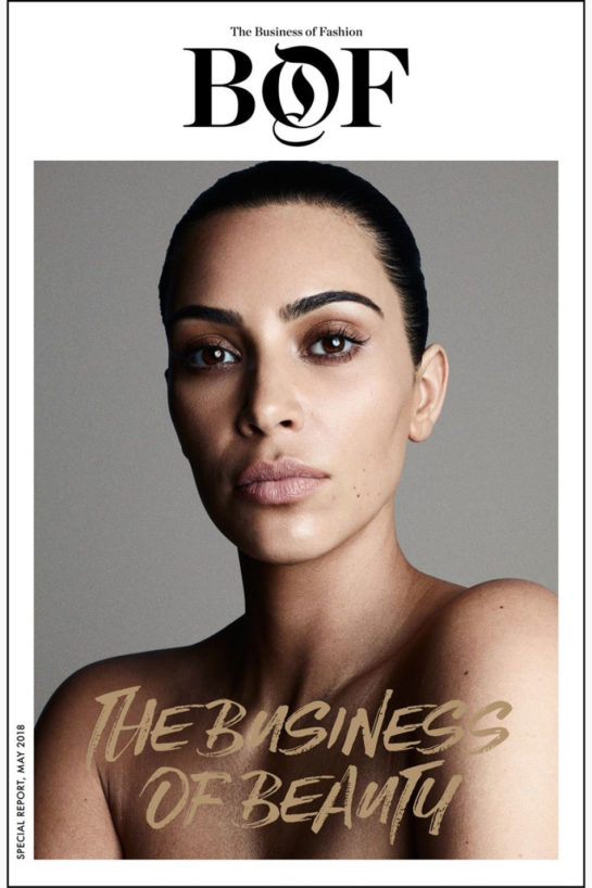 Kim Kardashian for Business of Fashion (May 2018)