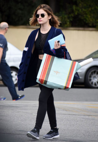 Lucy Hale - Shopping With a Friend in Los Angeles