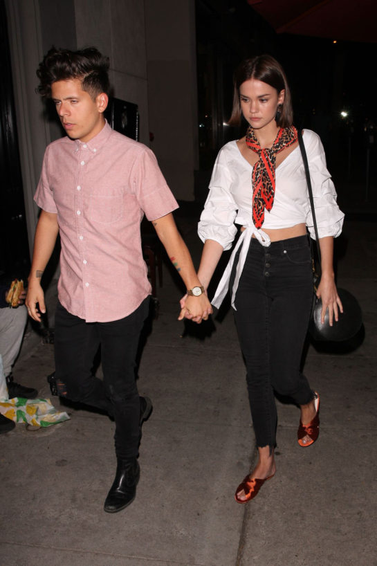 Maia Mitchell at Craig's Restaurant in West Hollywood