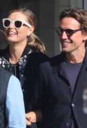 Maria Sharapova and Alexander Gilkes - Shopping in New York