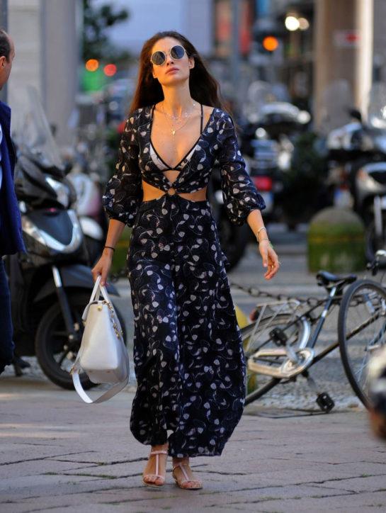 Marica Pellegrinelli – Out in Milan