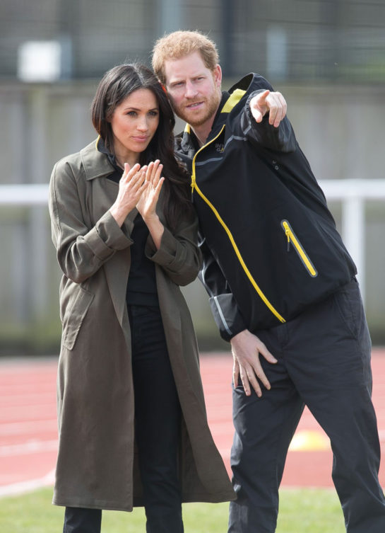 Meghan Markle and Prince Harry - University of Bath Sports Training Village in Bath, England