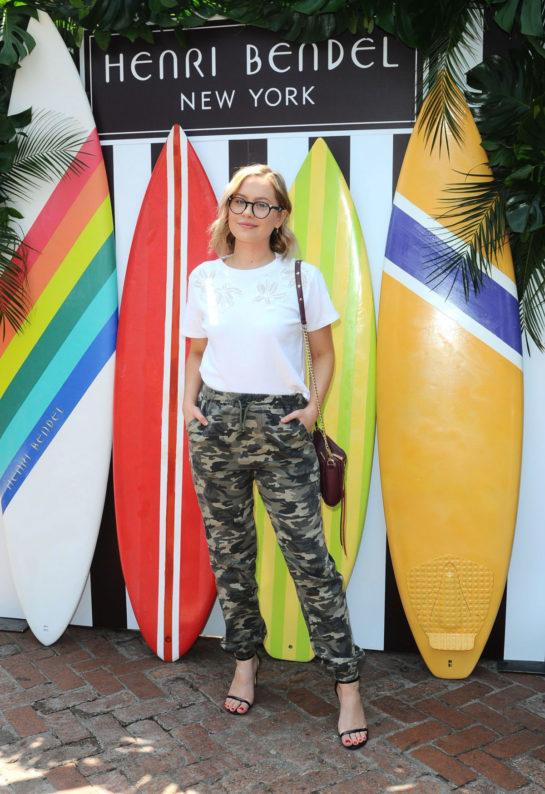 Natasha Bure - Henri Bendel Surf Sport 2018 Collection Launch in Los Angeles