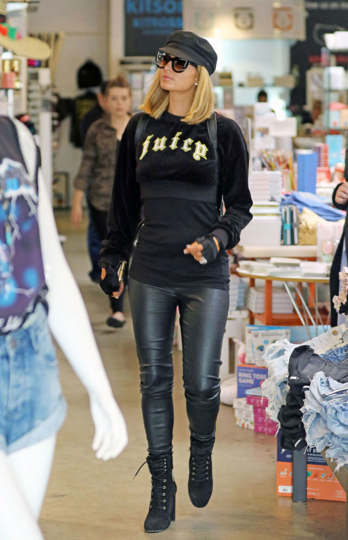 Paris Hilton – Shopping in West Hollywood