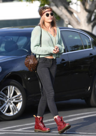 Paris Jackson - Fred Segal Cafe in West Hollywood