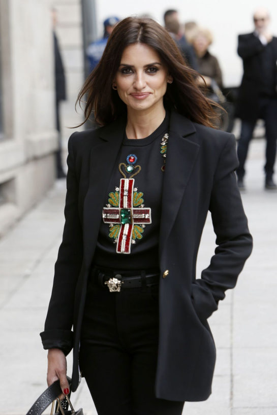 """Penelope Cruz on Ceremony of Delivery the """"Adoptive Son"""" Title by the City of Madrid"""