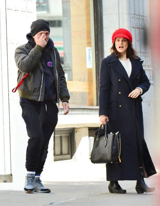 Rachel Weisz and Daniel Craig in New York