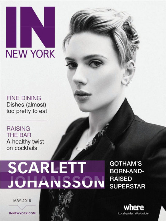 Scarlett Johansson IN New York Magazine (May 2018)