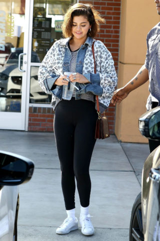 Selena Gomez Out in Anaheim