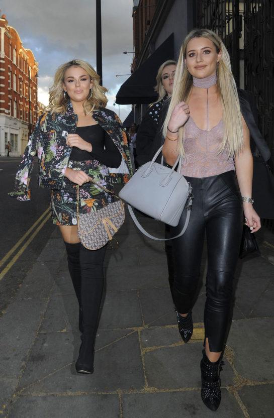 Tallia Storm and Tina Stinnes in London