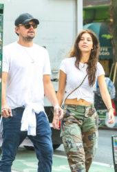 Camila Morrone and Leonardo Dicaprio Out in New York