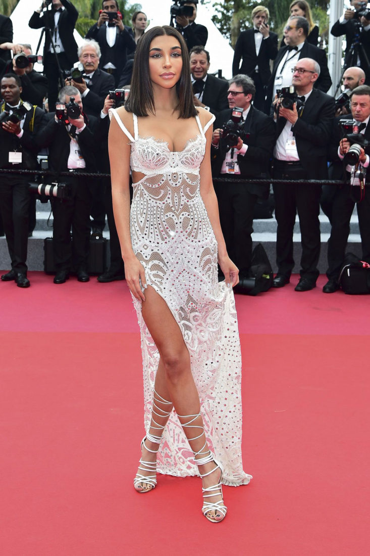 Chantel Jeffries at Cannes Film Festival 2018