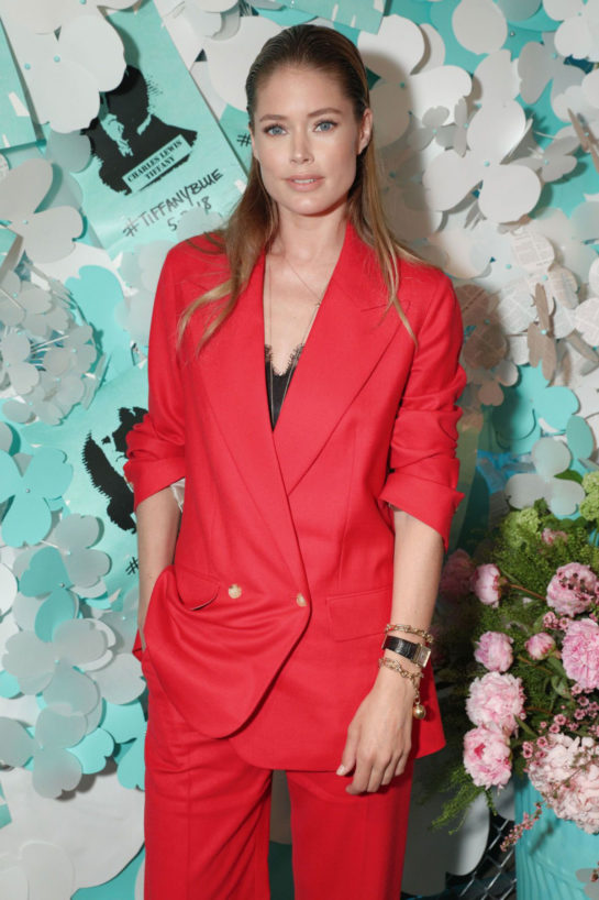 Doutzen Kroes – Tiffany & Co. Jewelry Collection Launch in New York