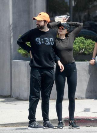 Elizabeth Olsen Leaves a Gym in Los Angeles