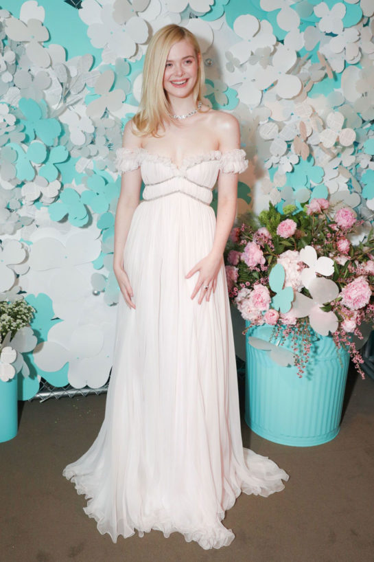 Elle Fanning – Tiffany & Co. Jewelry Collection Launch in New York