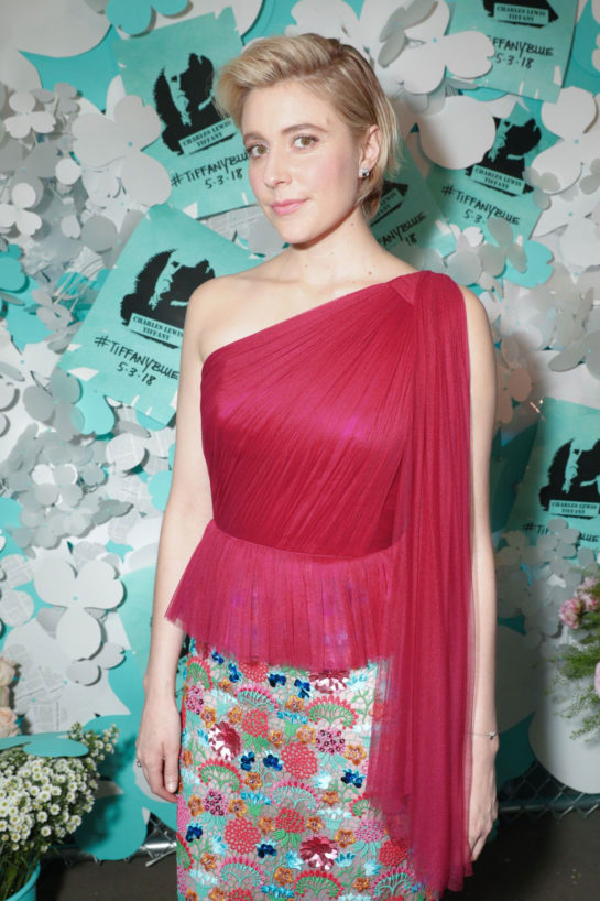 Greta Gerwig – Tiffany & Co. Jewelry Collection Launch in New York