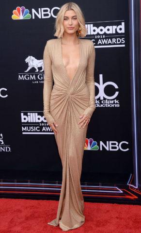 Hailey Baldwin at 2018 Billboard Music Awards
