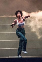Halsey Performing at Hangout Music Festival in Gulf Shores