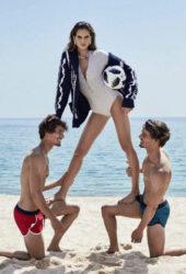 Izabel Goulart for Elle Magazine (Russia June 2018)