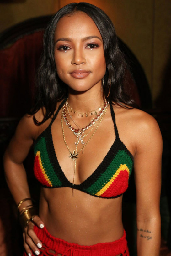 Karrueche Tran – Celebrates Her 30th Birthday Party in New York