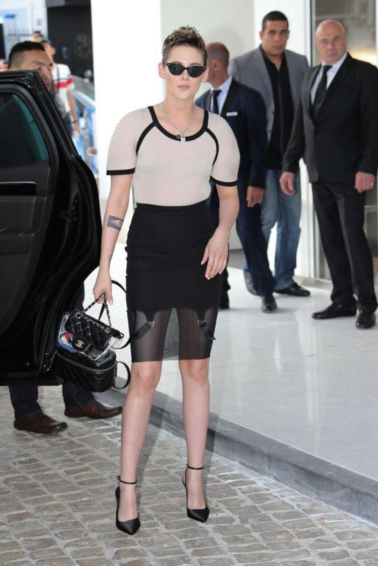 Street Style - Kristen Stewart in Cannes